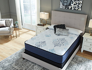 Bonita Springs Firm Full Mattress, White, large