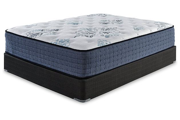 Bonita Springs Firm King Mattress, White, large