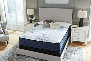 Bonita Springs Plush Full Mattress, White, large