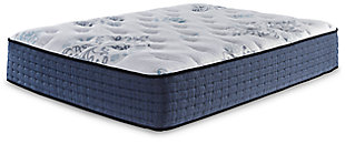 Bonita Springs Plush Queen Mattress, White, rollover