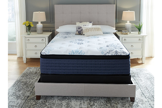 Bonita Springs Euro Top Full Mattress, White, large