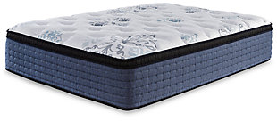 Bonita Springs Euro Top Queen Mattress, White, rollover