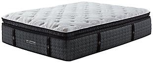 Loft and Madison Cushion Firm PT Queen Mattress, White, rollover