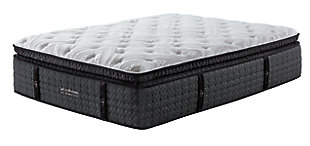 Loft and Madison Ultra Plush PT Queen Mattress, White, rollover