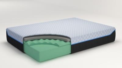10 Inch Chime Elite Twin Memory Foam Mattress In A Box Furniture Den