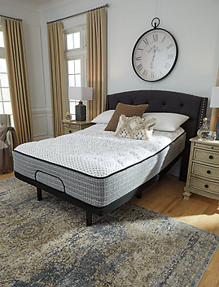 Santa Fe Firm King Mattress, White, large