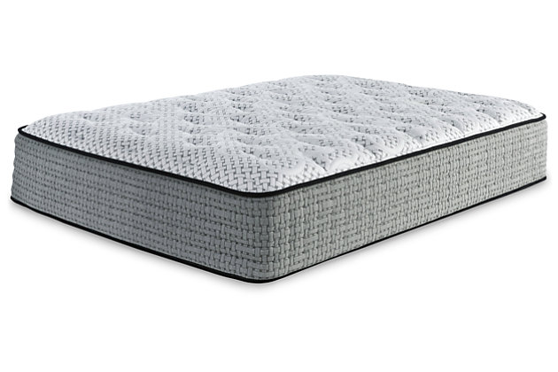 Santa Fe Firm Queen Mattress, White, large