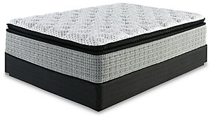 Santa Fe Pillowtop King Mattress, White, large