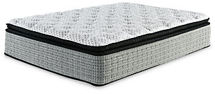 Santa Fe Pillowtop Queen Mattress, White, large