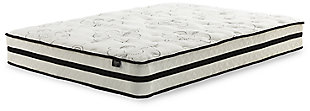 Chime 10 Inch Hybrid King Mattress in a Box, White, large