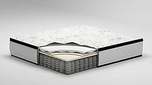 Chime 12 Inch Hybrid Twin Mattress, White, large