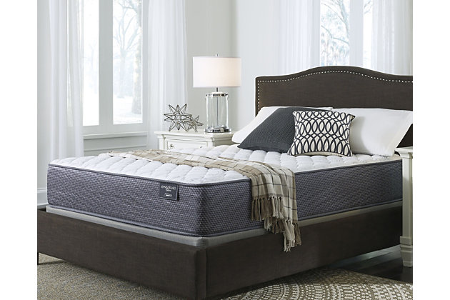 Anniversary Edition Firm King Mattress, White, large