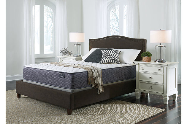 Anniversary Edition Firm Queen Mattress, White, large