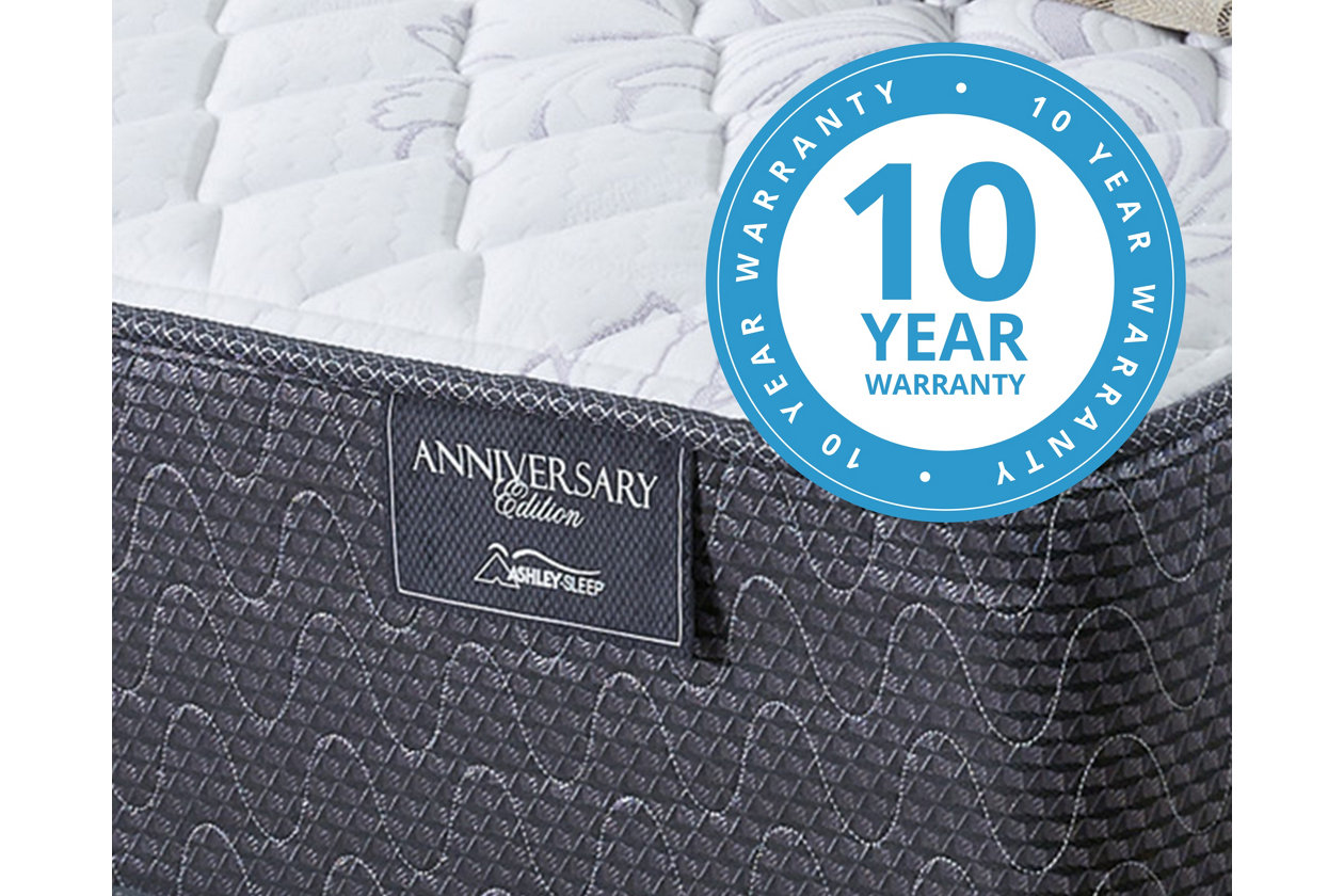 anniversary edition firm queen mattress ashley furniture homestore