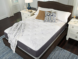 Anniversary Edition Plush Full Mattress, White, large