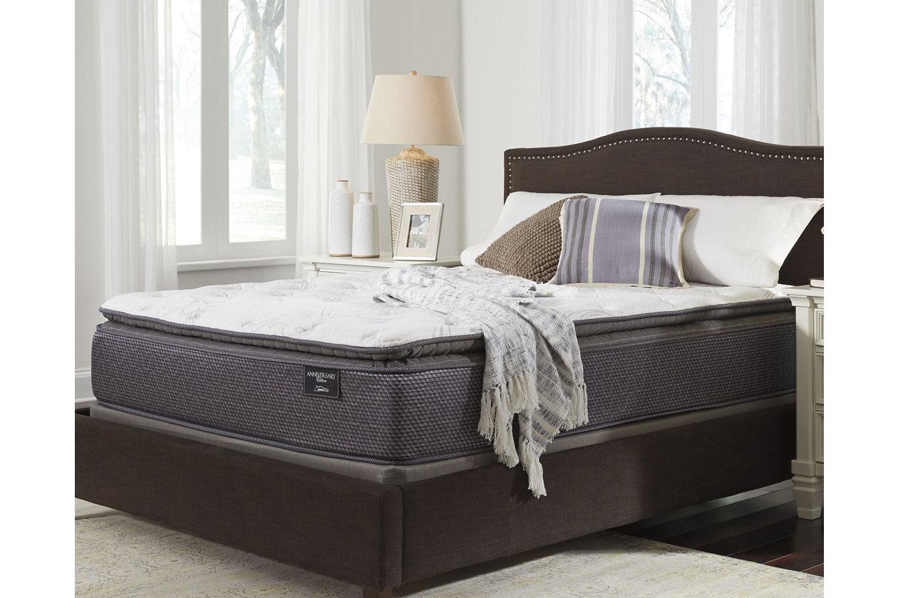 anniversary edition pillowtop queen mattress ashley furniture