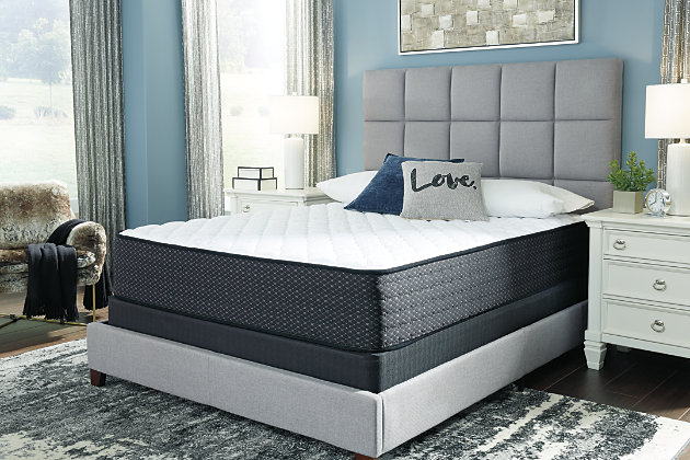 Anniversary Edition Firm Full Mattress, White, large