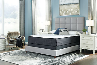 Anniversary Edition Firm Twin Mattress, White, rollover