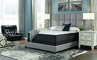 Anniversary Edition Plush Full Mattress, White, rollover