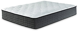 Anniversary Edition Plush Queen Mattress, White, rollover