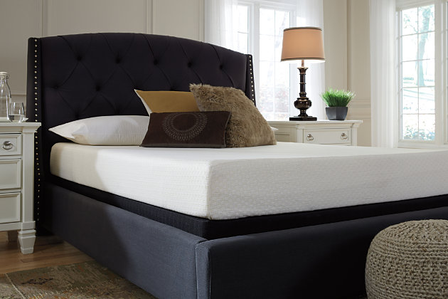 Chime 8 Inch Memory Foam Twin Mattress in a Box | Ashley ...