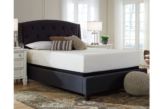 Chime 12 Inch Memory Foam Twin Mattress in a Box | Ashley ...