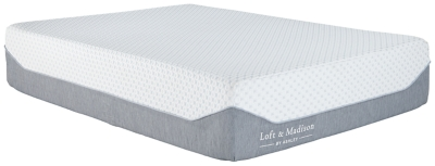 Loft and Madison 15 Plush Queen Mattress, , large