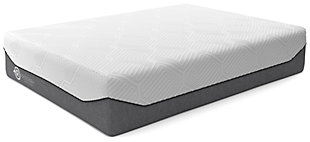 Realign+ 13 Firm Queen Mattress, White, rollover