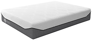 Realign+ 15 Plush Queen Mattress, White, rollover
