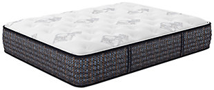 Bonita Springs Plush Twin Mattress, White, rollover