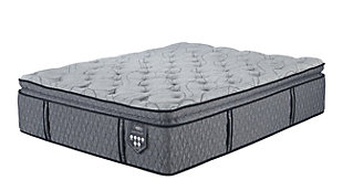 Napa Valley Firm Pillowtop Queen Mattress, Light Gray, large
