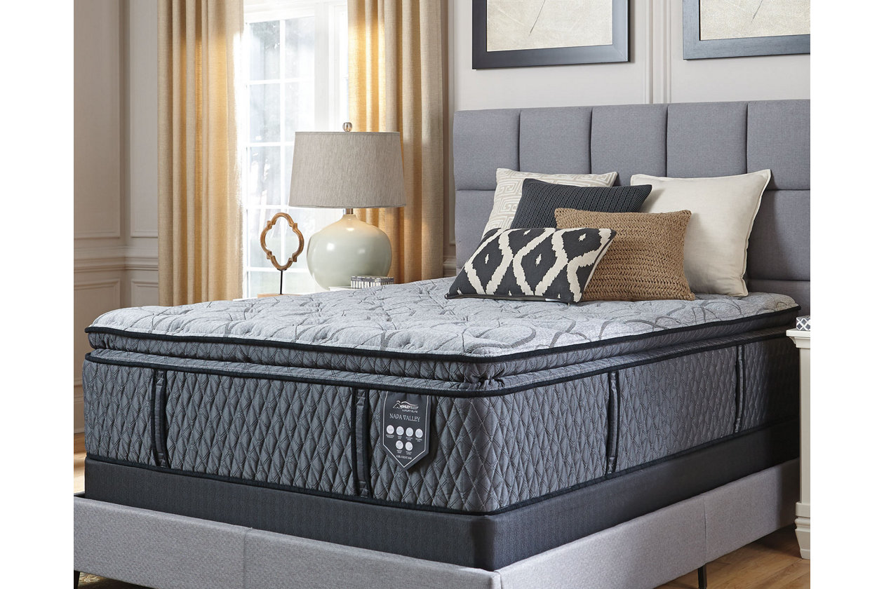 Tremendous Napa Valley Plush Pillowtop Queen Mattress Ashley Caraccident5 Cool Chair Designs And Ideas Caraccident5Info