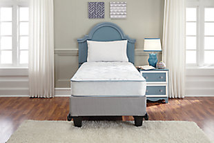 Innerspring Kids Mattress Twin Mattress, Blue, rollover
