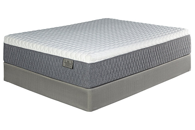 American Classic Memory Foam Hybrid Queen Mattress, White, large