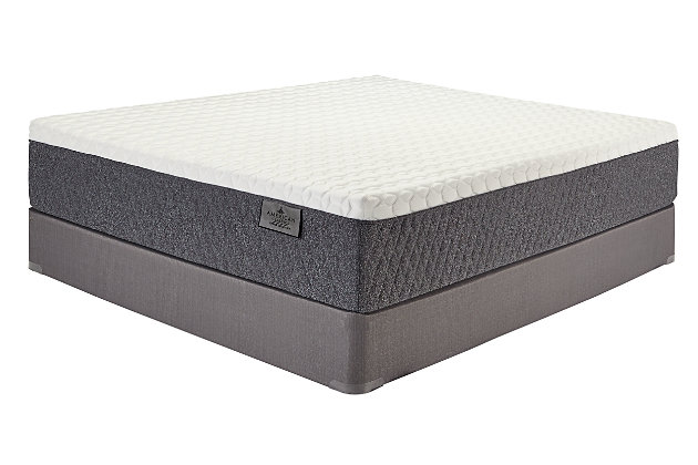 American Classic Firm Latex Hybrid Queen Mattress, White, large