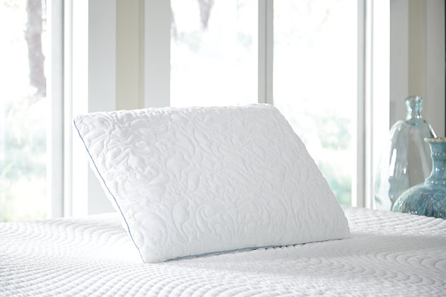 White Ashley Pillow Ventilated Queen Pillow by Ashley HomeStore