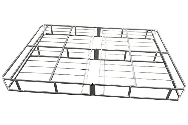 7 Inch Easy Open Boxspring King Foundation, White, large