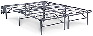 Better than a Boxspring Twin Foundation, Gray, large