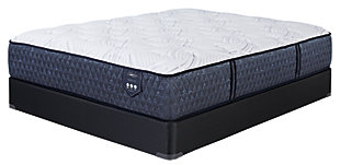 Santa Fe Cushion Firm Queen Mattress, White, large