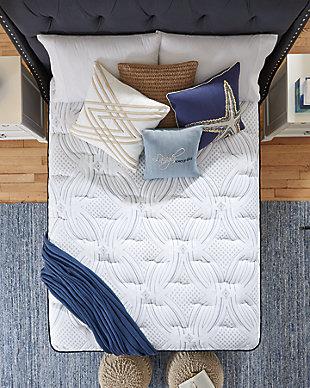 Santa Fe Cushion Firm Queen Mattress, White, large