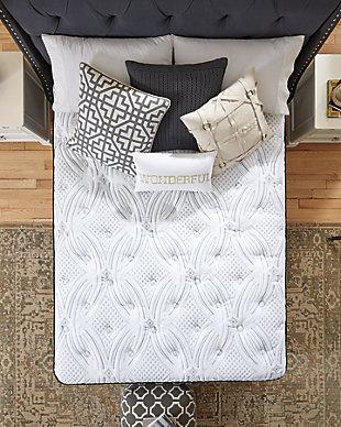Santa Fe Pillowtop Queen Mattress, White, large