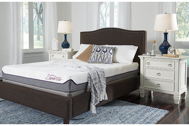 8 Inch Memory Foam Twin Mattress Ashley Furniture Homestore