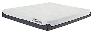 8 Inch Memory Foam Twin Mattress, White, large