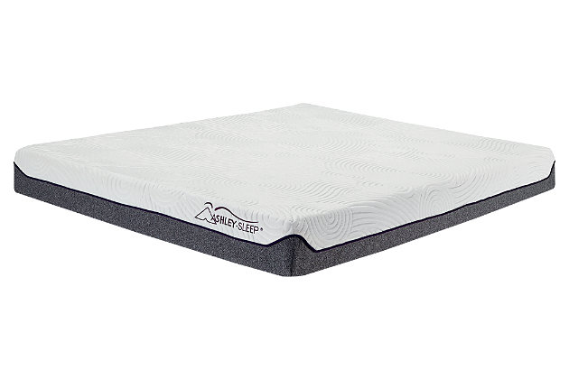 8 Inch Memory Foam Queen Mattress, White, large