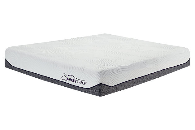 The Perfect 10 Mattress ™ Queen, White, large