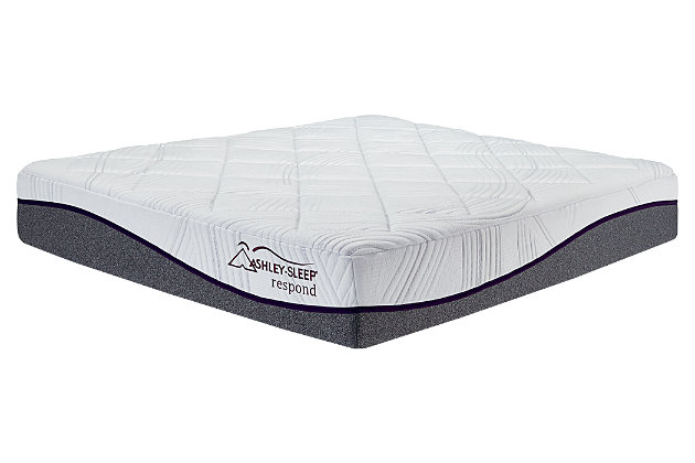 12 Inch Respond Series Memory Foam Full Mattress by Ashle...