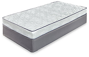 6 Inch Bonell Twin Mattress, , large