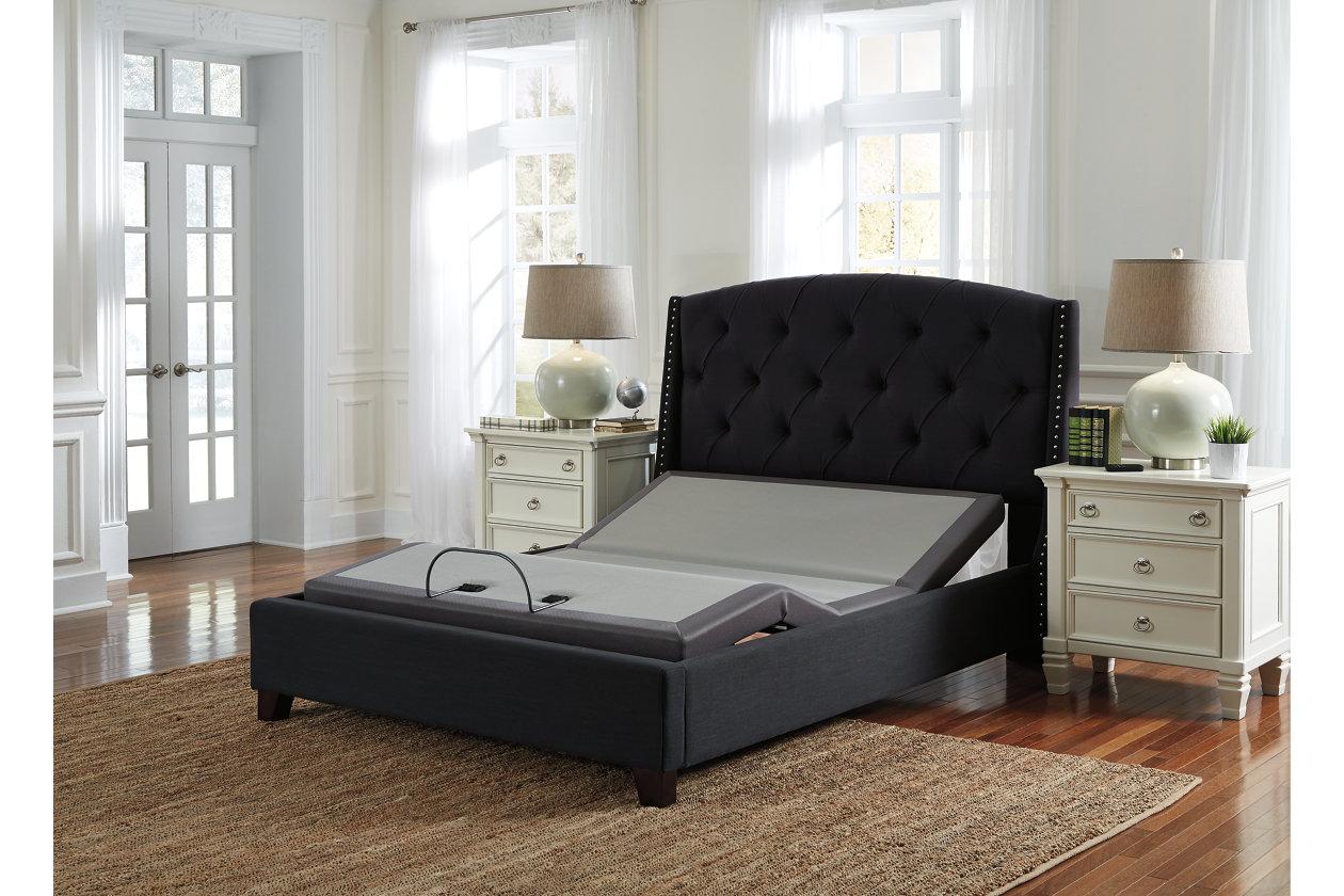 Magnificent Adjustable Base Head Feet Queen Ashley Furniture Homestore Download Free Architecture Designs Pendunizatbritishbridgeorg