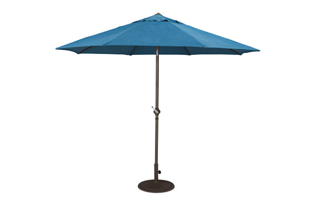 Umbrella Accessories 2-Piece 9' Octagonal Tilt Umbrella Set, , large