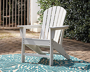 Sundown Treasure Adirondack Chair, White, rollover